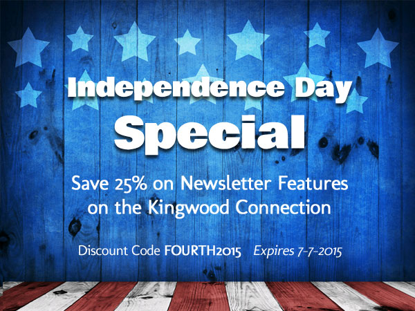 fourth of july sale on newsletter advertising