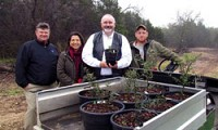 Lady Bird Johnson Wildflower Center Donates Saplings from Historic Trees to Precinct 4