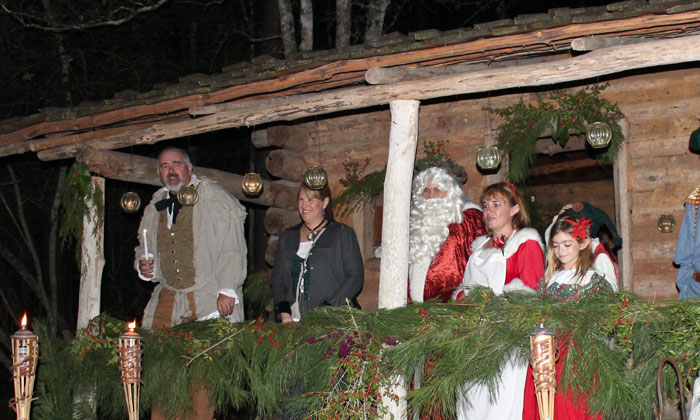 Jones Park Kicks Off the Christmas Holiday