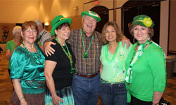 Seniors Celebrate St. Patrick's Day