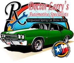 Spring Car Show Sponsored by Doctor Larrys