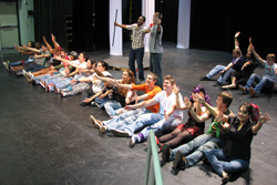 godspell at lonestar college kingwood