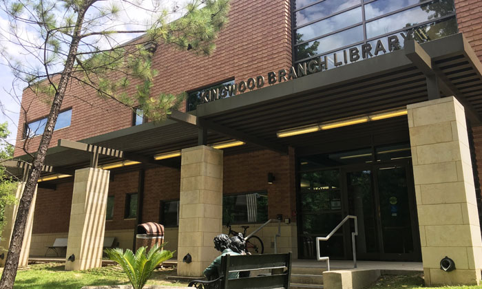 Kingwood Library Now Open