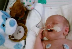 Local Family Seeks Blood Donations for Baby
