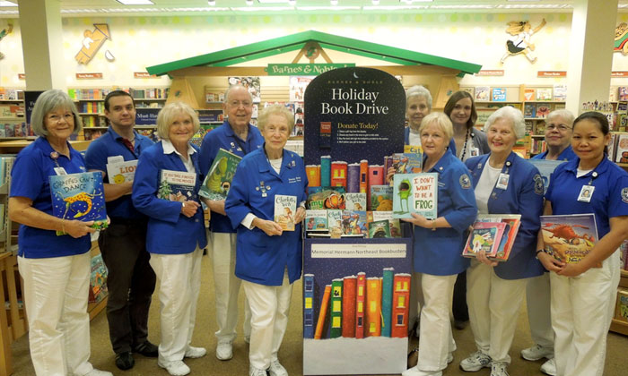 Barnes & Noble Deerbrook Holiday Book Drive underway to benefit Memorial Hermann Northeast book program