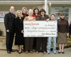 Keller Williams Realty Northeast Donates $30,000 to Charity