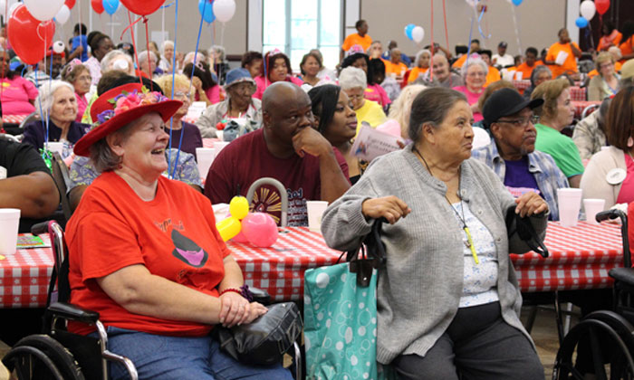Seniors Enjoy Precinct 4 County Fair