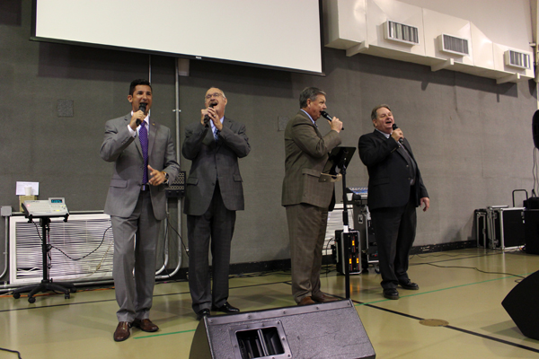 The Dignity Gospel Quartet