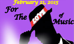 Vocal Competition: For the LOVE of Music 2015 Tryouts: January 31