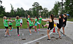 Lakeshore Elementary begins Girls on the Run Club