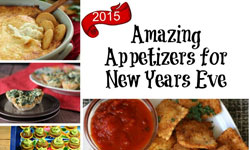 Amazing Appetizers for New Year's Eve