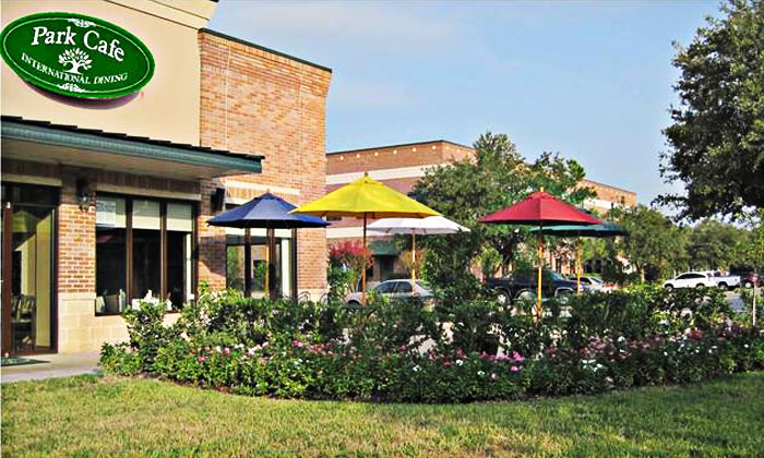 Park Cafe Opens at Kingwood Town Center